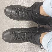 Обувь ручной работы. Ярмарка Мастеров - ручная работа Мужские кеди. Handmade.