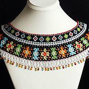 Украшения handmade. Livemaster - original item Collar shoulder pads. Handmade.
