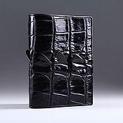 Сумки и аксессуары handmade. Livemaster - original item Passport cover crocodile skin IMA0021B222. Handmade.