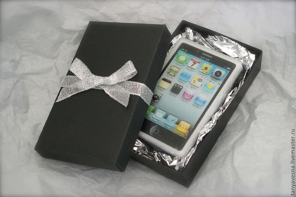 Как оригинально упаковать телефон в подарок фото