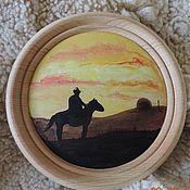 Для дома и интерьера handmade. Livemaster - original item Interior plate