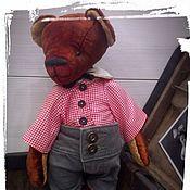 Куклы и игрушки ручной работы. Ярмарка Мастеров - ручная работа Тимоша...мишка-тедди Резерв. Handmade.