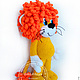 Сказочные персонажи ручной работы. Ярмарка Мастеров - ручная работа. Купить Солнечный Львёнок (из мультика про Львёнка и черепаху). Handmade.