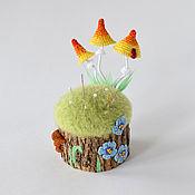 Материалы для творчества handmade. Livemaster - original item Pincushion handmade, Needle storage. Handmade.