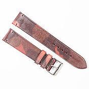 Украшения handmade. Livemaster - original item Camouflage Pink Genuine Leather Strap. Handmade.