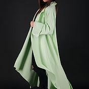 Одежда handmade. Livemaster - original item Green cashmere coat-CT0001CA. Handmade.