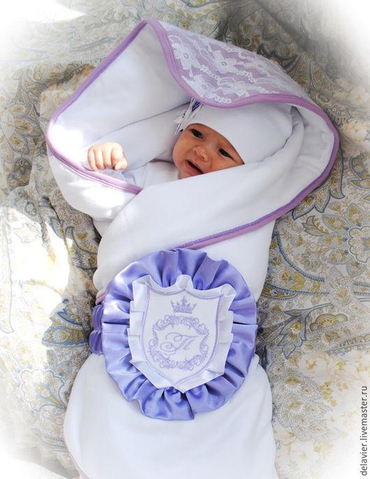Конверт для новорожденного, конверт на выписку из роддома, нежный, теплый, мягкий и шикарный конверт на выписку из роддома, на выписку из роддома, детское одеяло