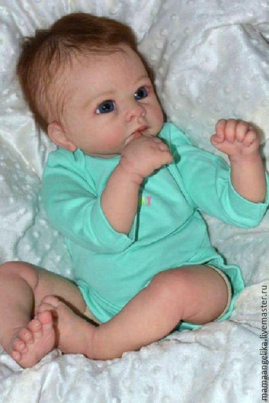 Куклы-младенцы и reborn ручной работы. Ярмарка Мастеров - ручная работа. Купить кукла реборн Алешенька. Handmade. Реборн, холофайбер