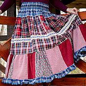 """Одежда ручной работы. Ярмарка Мастеров - ручная работа Юбка макси """"Карусель"""". Handmade."""