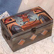 Для дома и интерьера ручной работы. Ярмарка Мастеров - ручная работа Шкатулка-сундук Флоренция. Handmade.