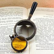 Очки ручной работы. Ярмарка Мастеров - ручная работа Монокль на ручке 2. Handmade.