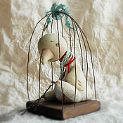 Куклы и игрушки ручной работы. Ярмарка Мастеров - ручная работа Белая ворона. Handmade.