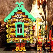 """Для дома и интерьера ручной работы. Ярмарка Мастеров - ручная работа Интерьерный чайный домик """"Сказочка"""". Handmade."""