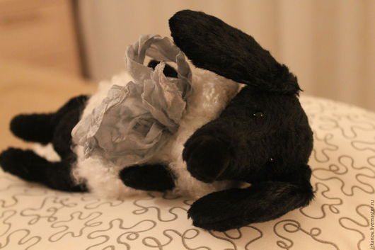Мишки Тедди ручной работы. Ярмарка Мастеров - ручная работа. Купить Такса. Handmade. Черный, собака игрушка, бархат