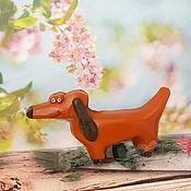 handmade. Livemaster - original item Handmade dachshund soap buy as a gift for children to order Moscow 2D. Handmade.