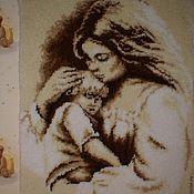 """Картины и панно ручной работы. Ярмарка Мастеров - ручная работа Панно """"Мой малыш"""". Handmade."""