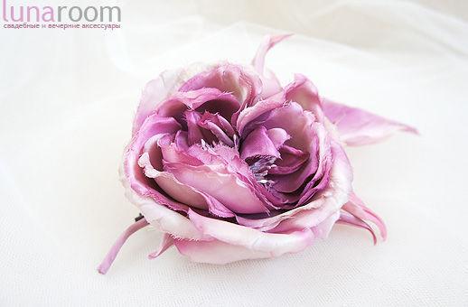 """Броши ручной работы. Ярмарка Мастеров - ручная работа. Купить Роза """"Беатрис"""". Handmade. Цветы ручной работы, 100% шёлк"""