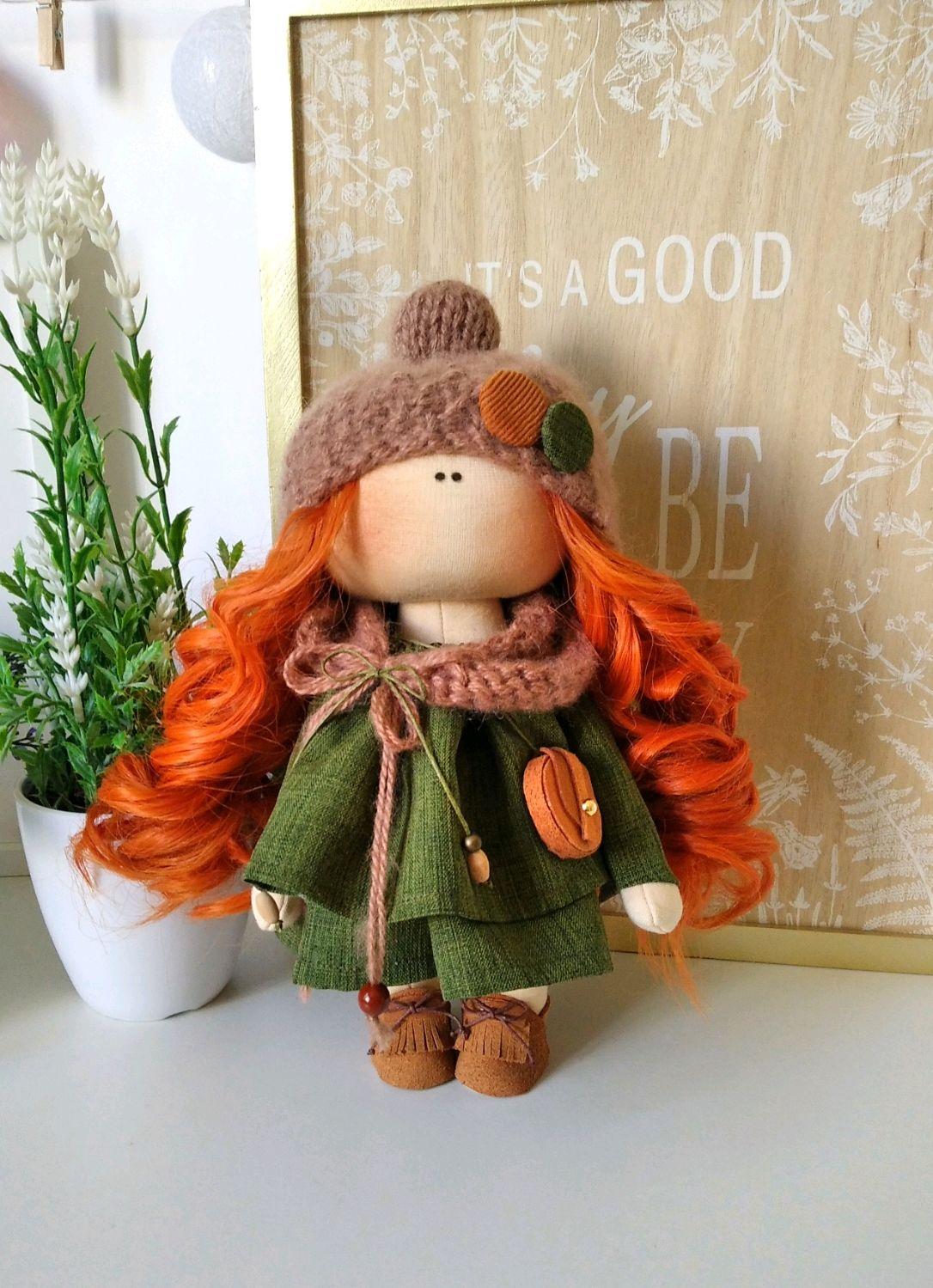 Кукла с рыжими волосами, Куклы и пупсы, Ярославль,  Фото №1