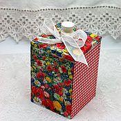 Для дома и интерьера handmade. Livemaster - original item Container-box for bulk products storage Summer garden. Handmade.