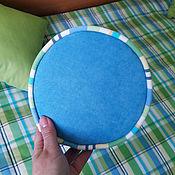 Шторы ручной работы. Ярмарка Мастеров - ручная работа Комплект для детской салатовый и голубым. Handmade.