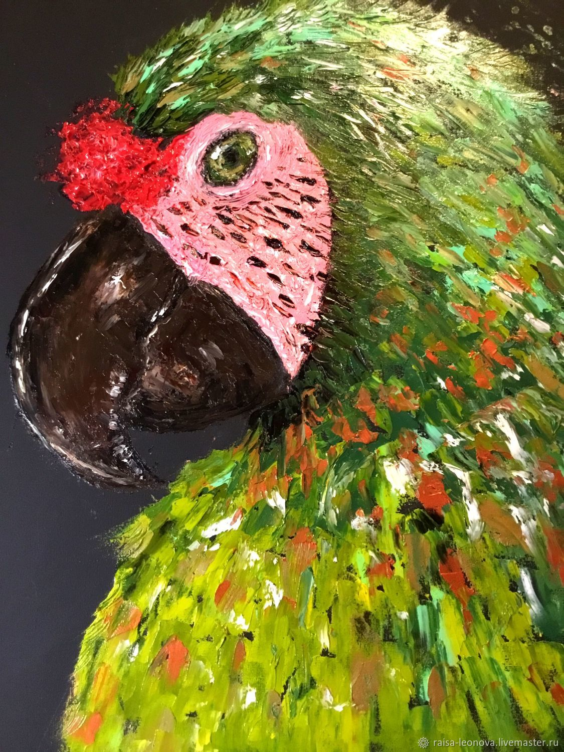 Picture: the picture is bright for the children's parrot,oil impasto, Pictures, Sopot,  Фото №1