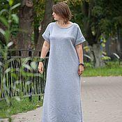 Одежда ручной работы. Ярмарка Мастеров - ручная работа Теплое длинное платье Оригами Gray Stone. Handmade.