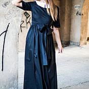Одежда handmade. Livemaster - original item Long dress from poliviskozy - DR0296CS. Handmade.