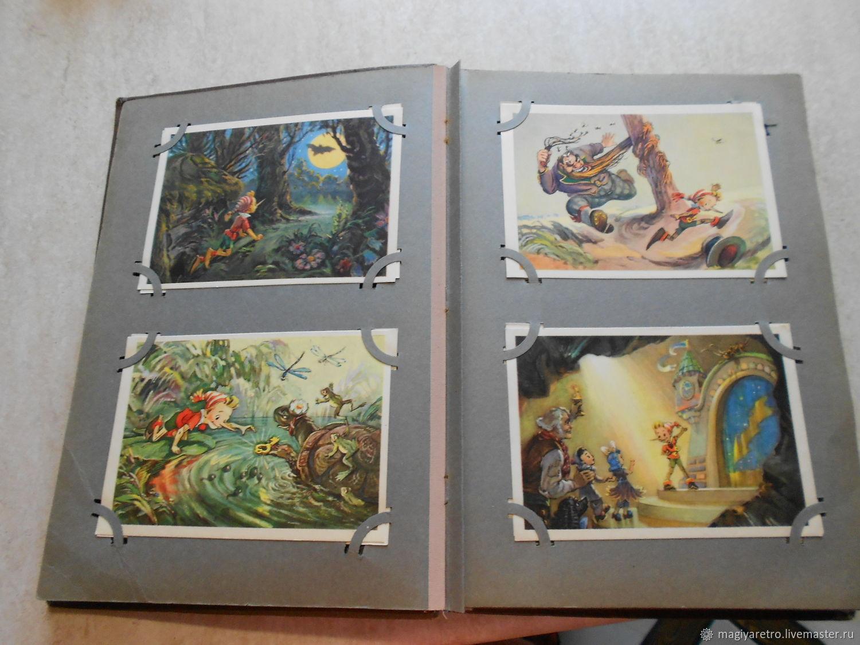 Альбом с открытками 50-х годов, 105 штук, Открытки, Москва, Фото №1