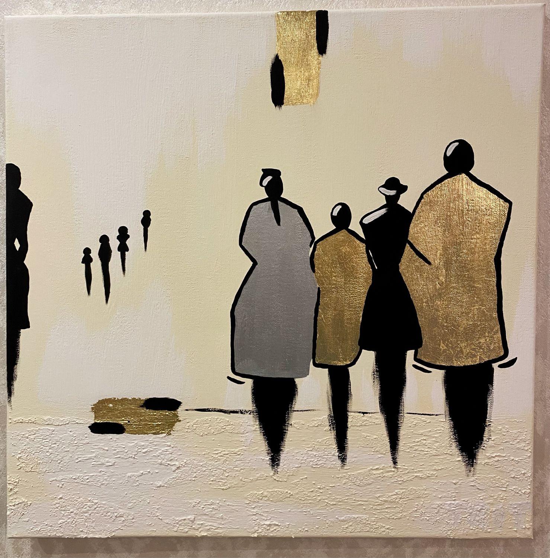 Картина в интерьер «Люди». Интерьерная картина, Картины, Москва,  Фото №1