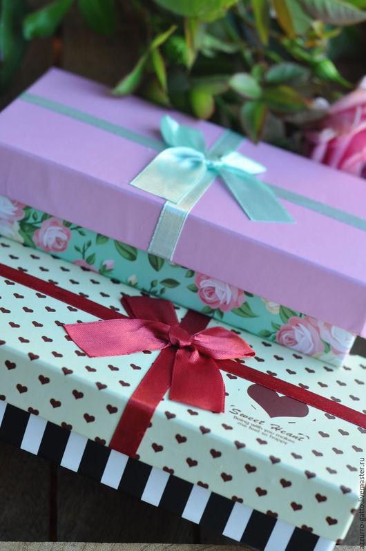 Упаковка ручной работы. Ярмарка Мастеров - ручная работа. Купить Подарочная коробочка. Handmade. Коробочка, картон