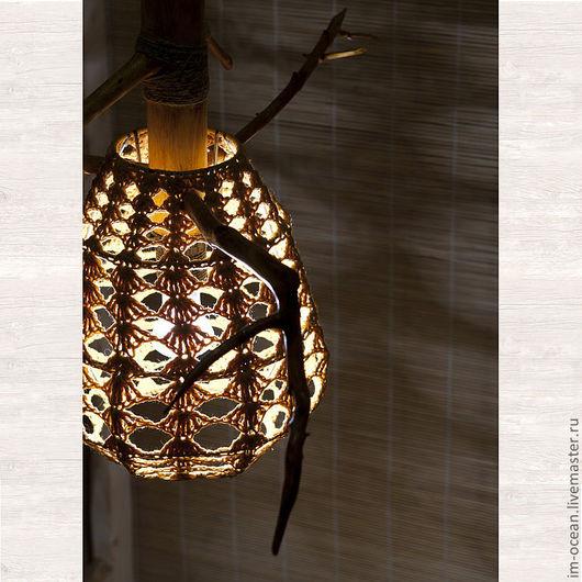 Освещение ручной работы. Ярмарка Мастеров - ручная работа. Купить Люстра / Подвесной светильник. Handmade. Люстра из дерева