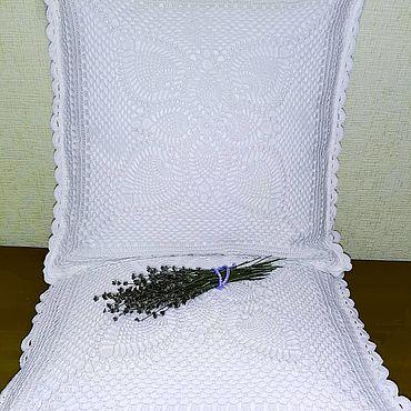 Для дома и интерьера ручной работы. Ярмарка Мастеров - ручная работа Наволочки для подушек. Handmade.