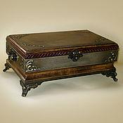 Для дома и интерьера ручной работы. Ярмарка Мастеров - ручная работа Шкатулка  в старинном стиле. Handmade.