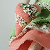 Куклы и игрушки ручной работы. Ярмарка Мастеров - ручная работа Мадемуазель Весна, интерьерная кукла Тильда, текстильная. Handmade.
