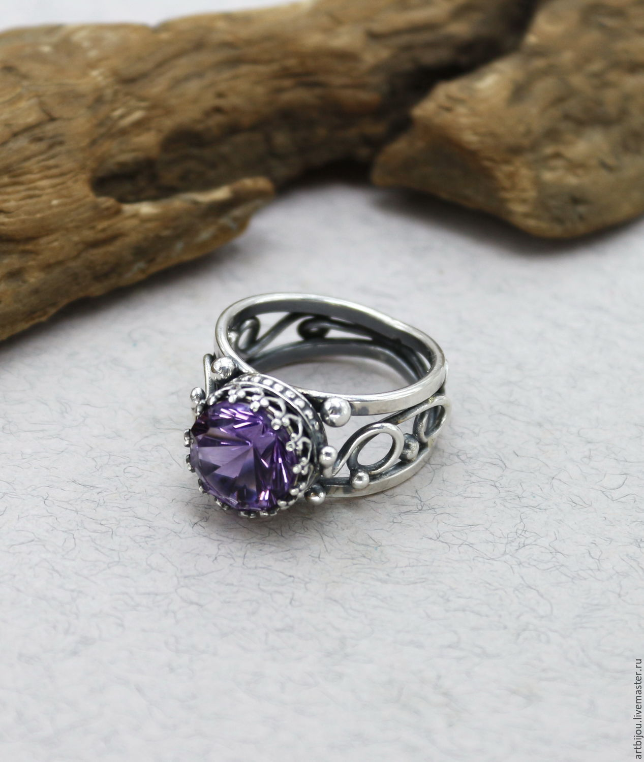 pear ring rings halo sunset amethyst purple diamond engagement
