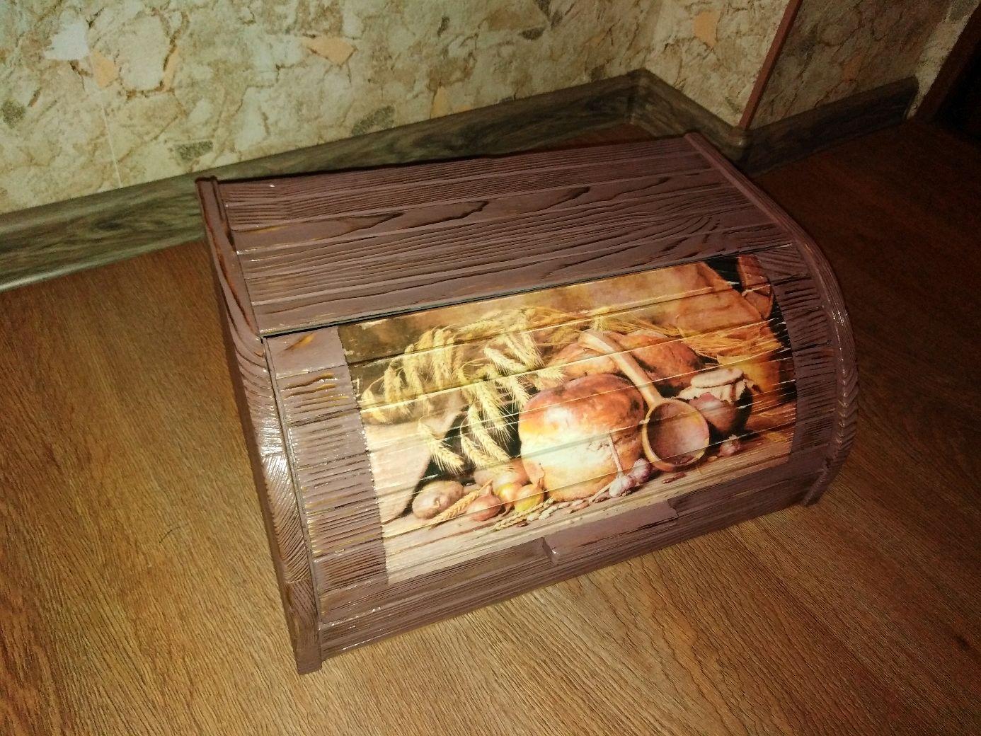 """Кухня ручной работы. Ярмарка Мастеров - ручная работа. Купить Хлебница """"Пышный хлеб""""-2. Handmade. Коричневый, хлебница в подарок"""