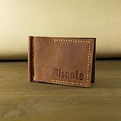 Сумки и аксессуары handmade. Livemaster - original item Leather bill holder. Handmade.