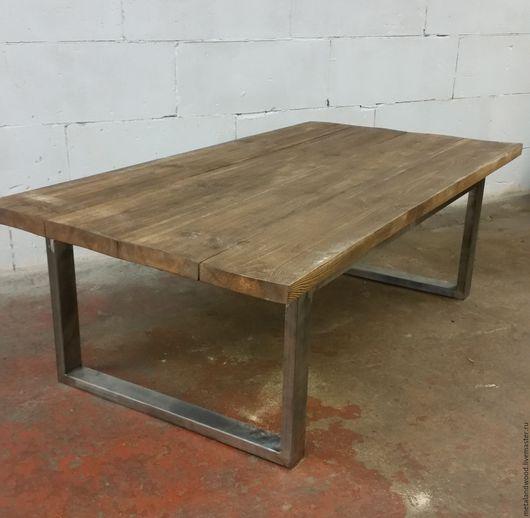 Мебель ручной работы. Ярмарка Мастеров - ручная работа. Купить Столик кофейный mod.4. Handmade. Комбинированный, лофт стол