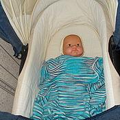 """Работы для детей, ручной работы. Ярмарка Мастеров - ручная работа Плед для новорожденного """"Меланжевый"""". Handmade."""