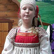 Одежда ручной работы. Ярмарка Мастеров - ручная работа Русский девичий костюм. Handmade.