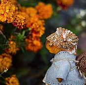 Куклы и игрушки ручной работы. Ярмарка Мастеров - ручная работа осень ползёт. Handmade.