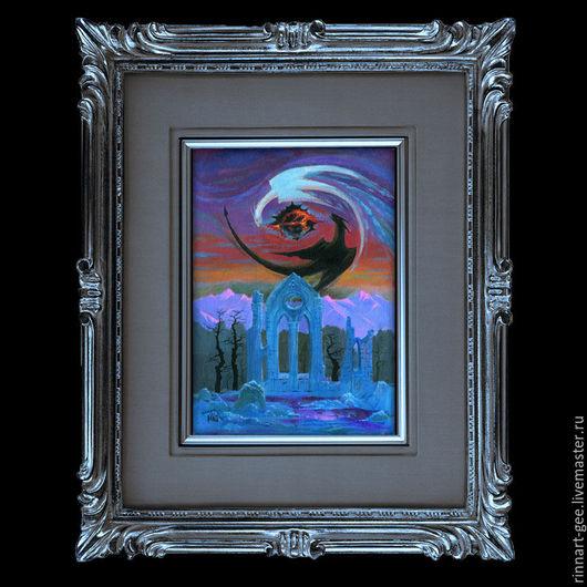`Алтарь Возмездия`. Картина-артефакт для магического ритуала восстановления энергии.