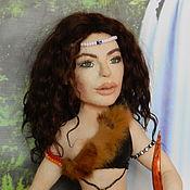 Портретная кукла ручной работы. Ярмарка Мастеров - ручная работа видео мастер класс по кукле из капрона и синтепона методом валяния. Handmade.