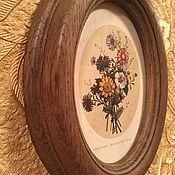 Фоторамки ручной работы. Ярмарка Мастеров - ручная работа Круглые и овальные рамки для фото,картин,зеркал,вышивки из дерева. Handmade.