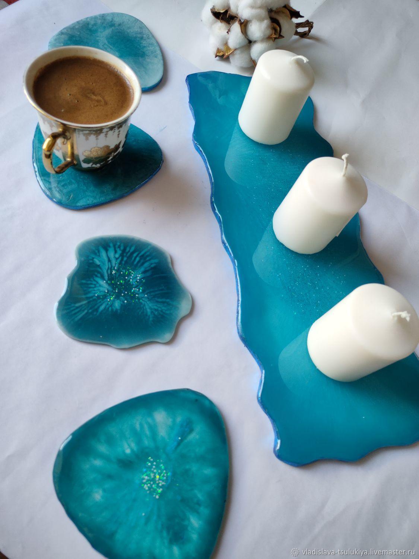 Кухонный набор из эпоксидной смолы, Кухонные наборы, Краснодар,  Фото №1