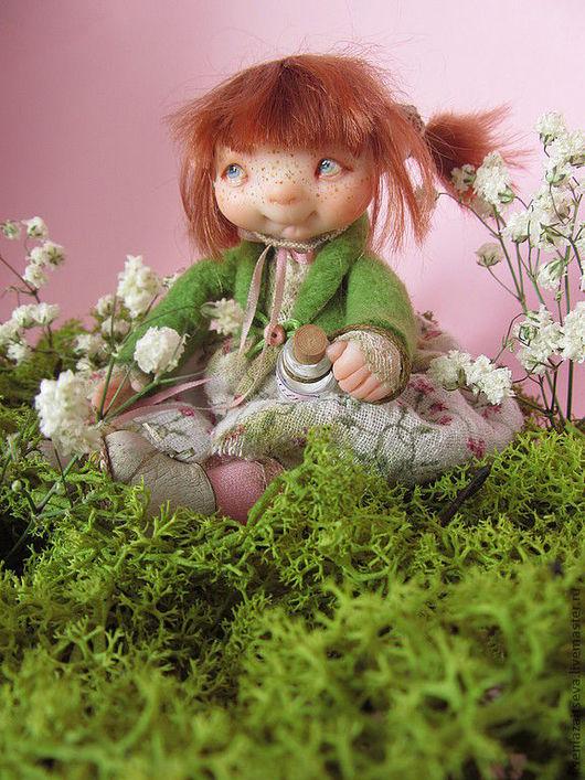 """Коллекционные куклы ручной работы. Ярмарка Мастеров - ручная работа. Купить """"Эбби"""". Handmade. Куклы ручной работы, баршка, дерево"""