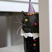 Куклы и игрушки handmade. Livemaster - original item Cat monster. Handmade.