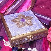 Для дома и интерьера handmade. Livemaster - original item Jewelry box