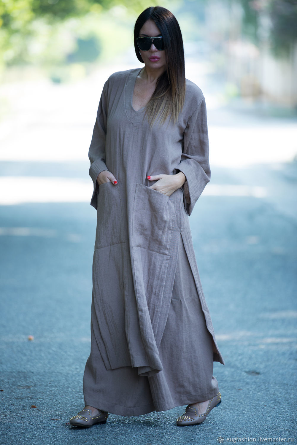 Women\'s suit, trousers and tunic \