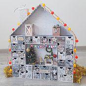 Подарки ручной работы. Ярмарка Мастеров - ручная работа Адвент календарь с миниатюрой и примерами заданий. Handmade.